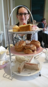 Afternoon tea at the Richmond Hill Hotel